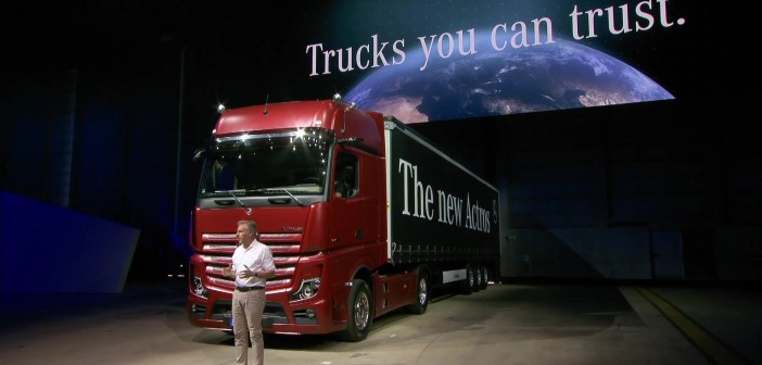 Mercedes-Benz presenta el New Actros Edition 1.