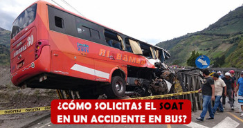 Gestión del SOAT en un accidente en bus